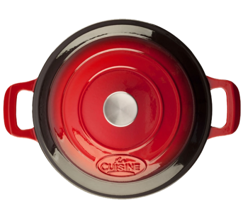Low Casserole 28cm - RED