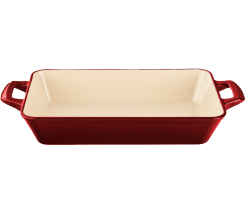 Roaster Dish 28cmx18cm - RED