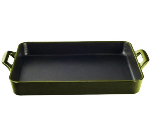 Roaster Tray 34cmx26cm - GREEN