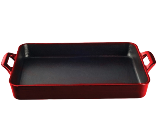 Roaster Tray 34cmx26cm - RED