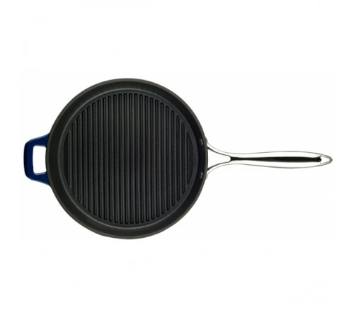 Grill Pan w/ss Handle 28cm - BLUE