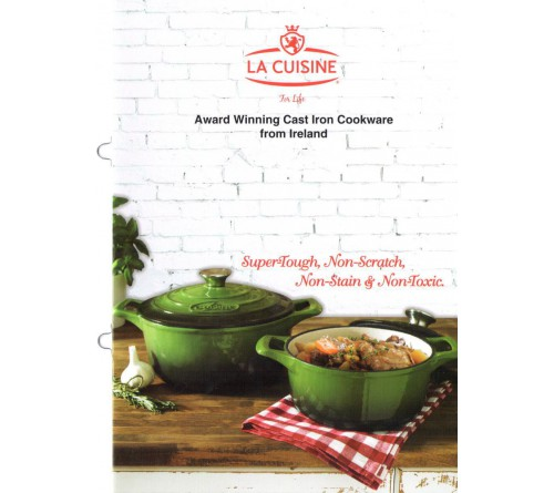 La Cuisine Booklet - 5 Units (English)